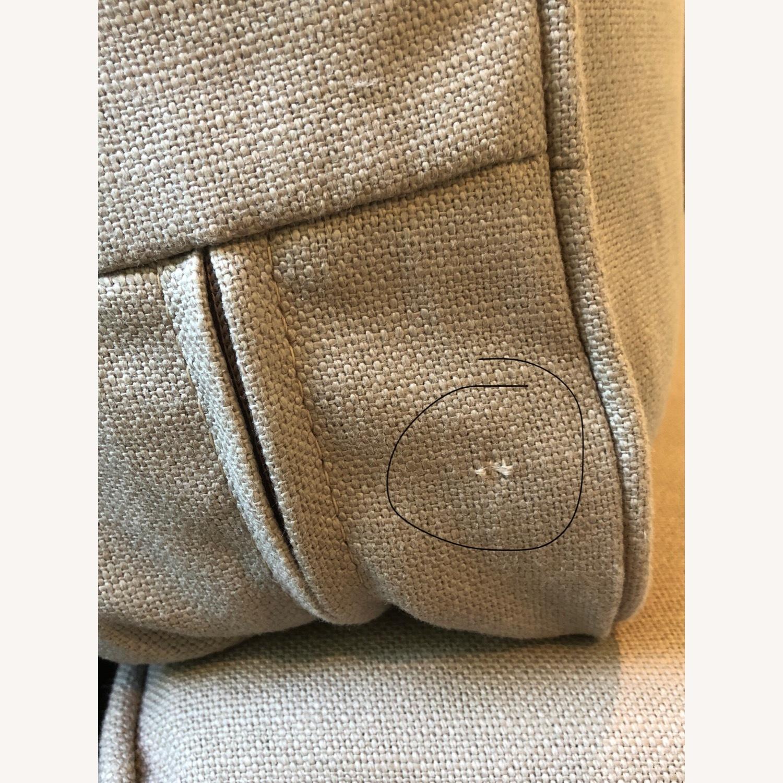 Pottery Barn Comfort Sofa slipcovered Wedge - image-19