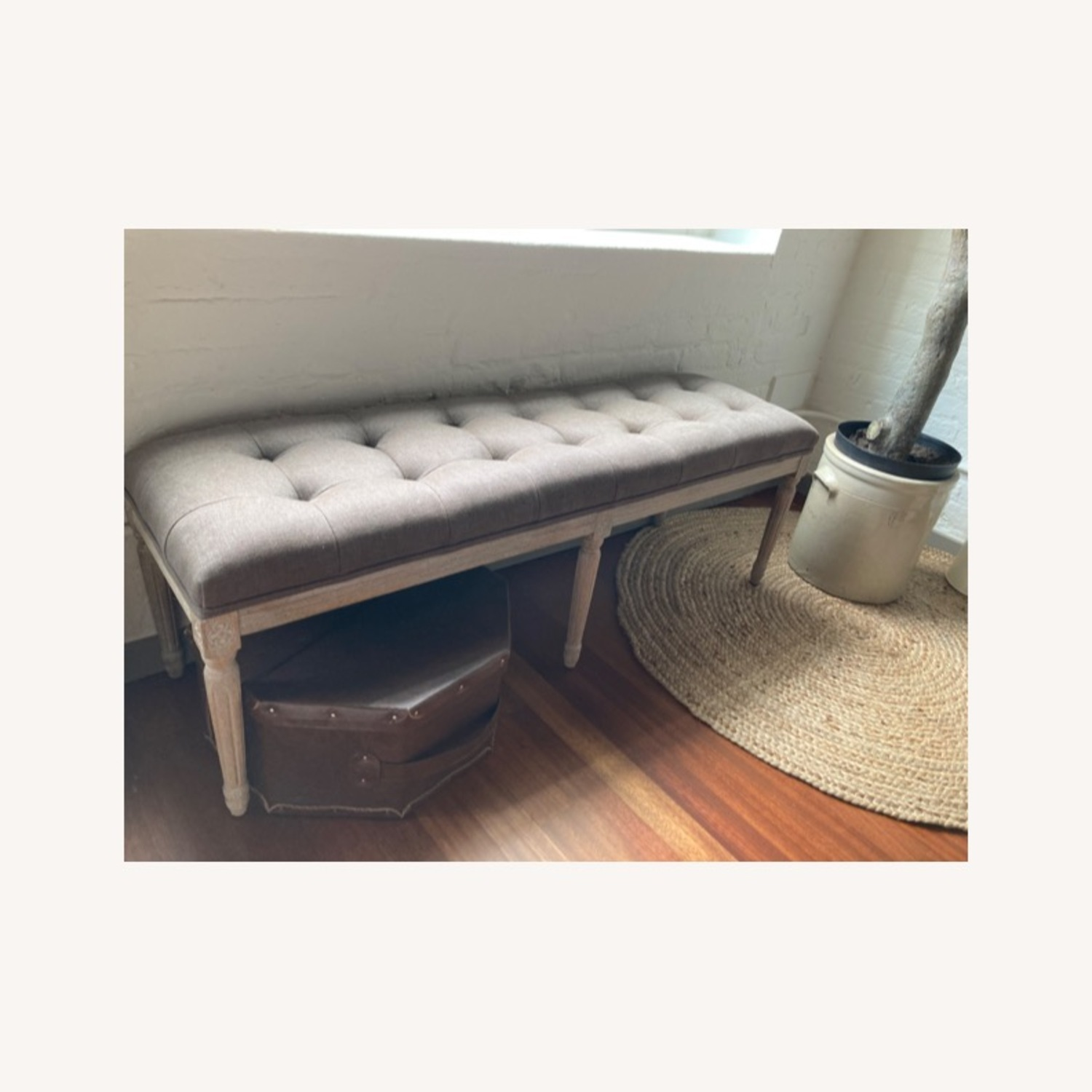 Zin Home Louis Style Bench - image-1