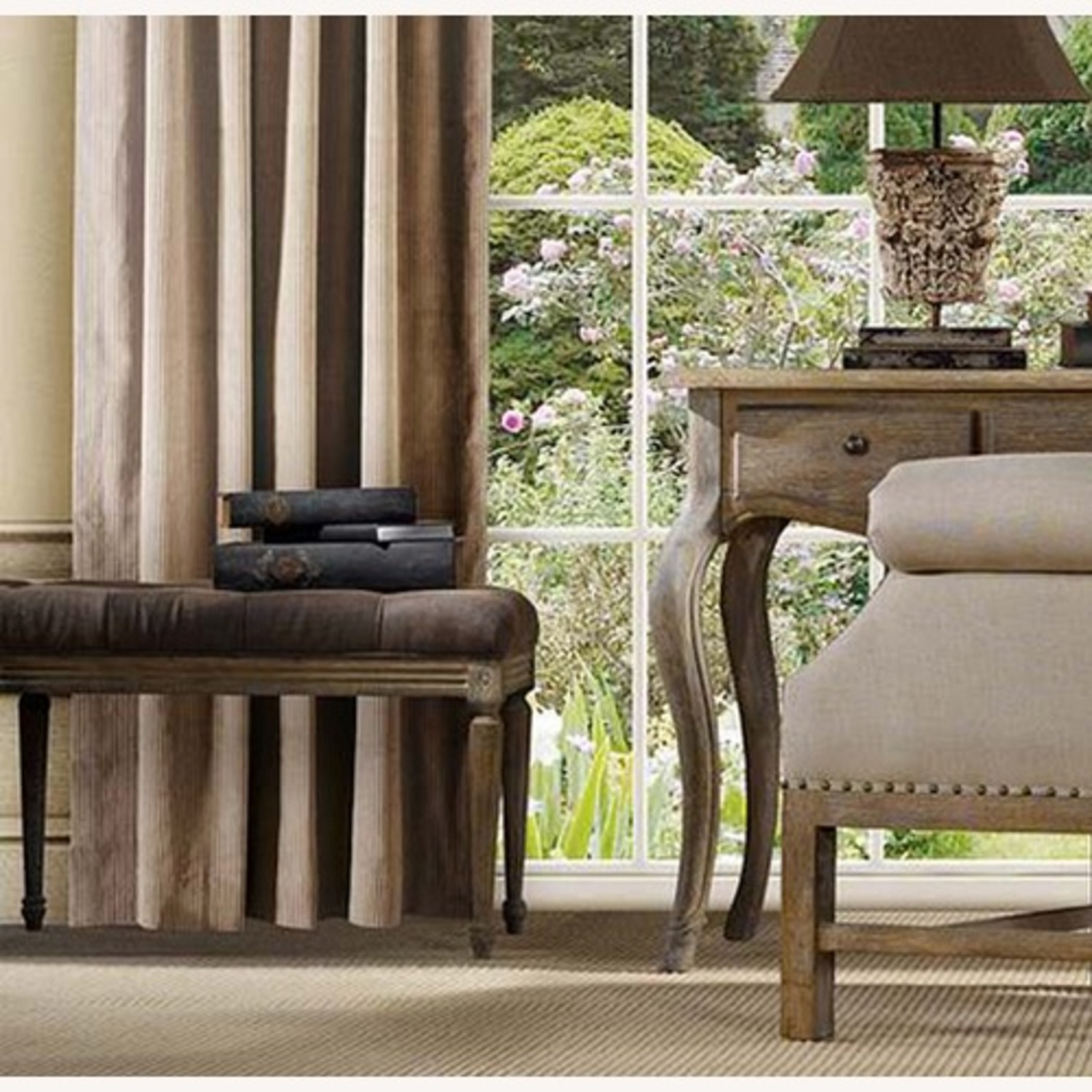 Zin Home Louis Style Bench - image-9