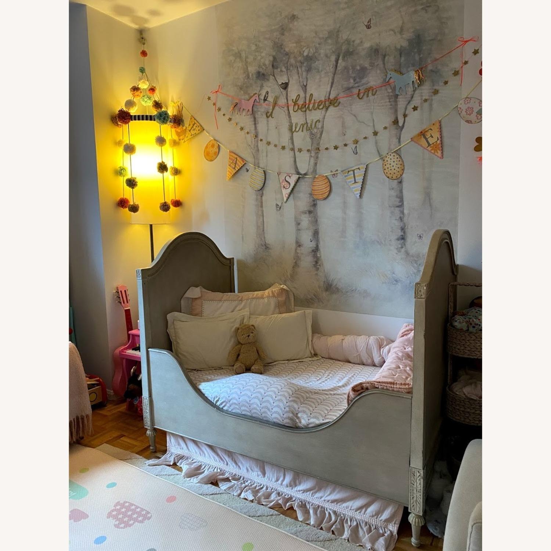 Restoration Hardware Bellina Crib+Toddler Bed Kit - image-7