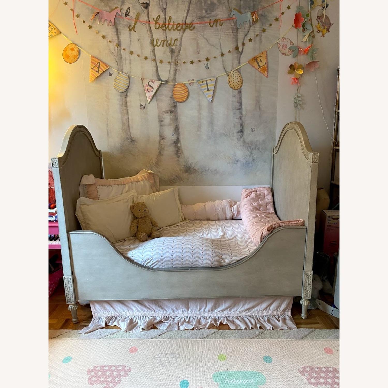 Restoration Hardware Bellina Crib+Toddler Bed Kit - image-6