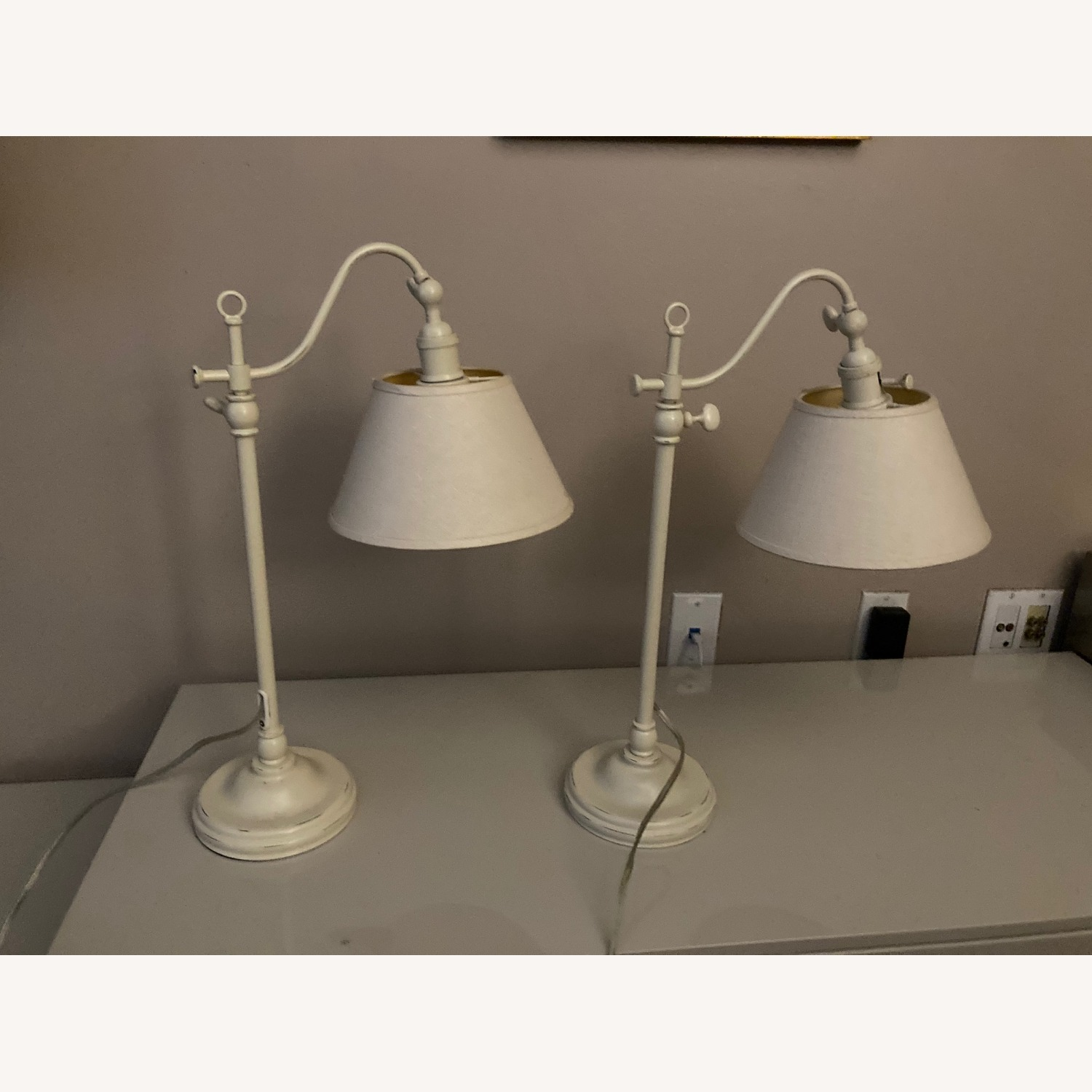 Pottery Barn Side Lamps - image-1
