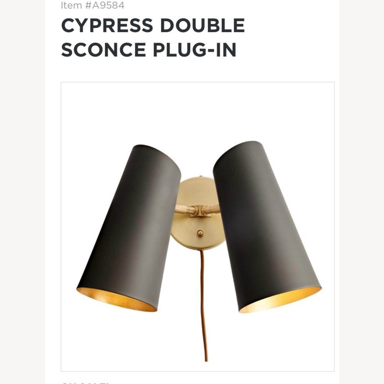 Rejuvenation Cyprus Double Sconce - image-1