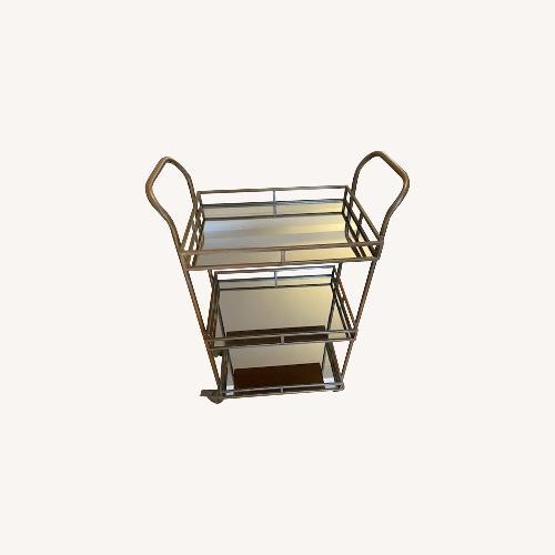 Used Mirror Bar Cart for sale on AptDeco