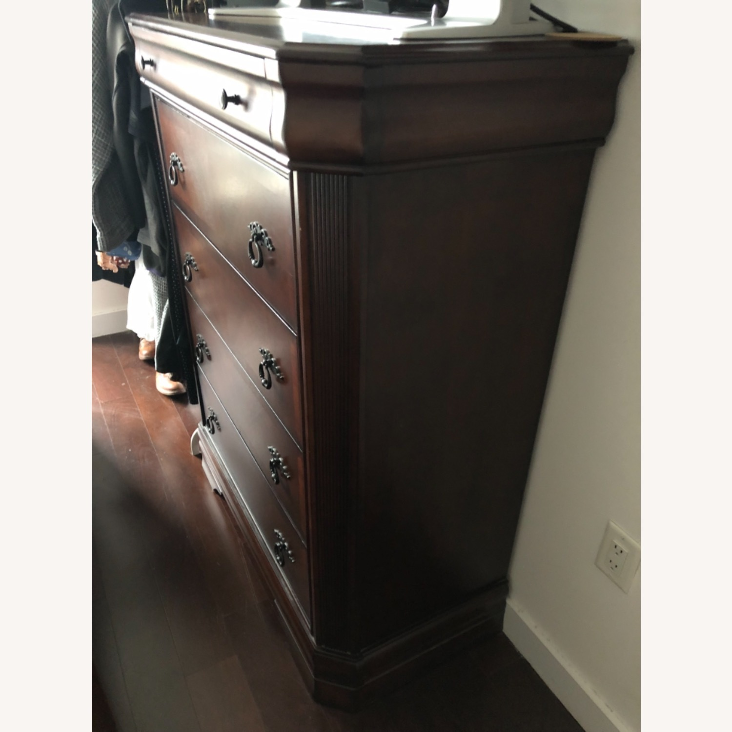 Ashley Furniture Brown Wood Chest - image-6