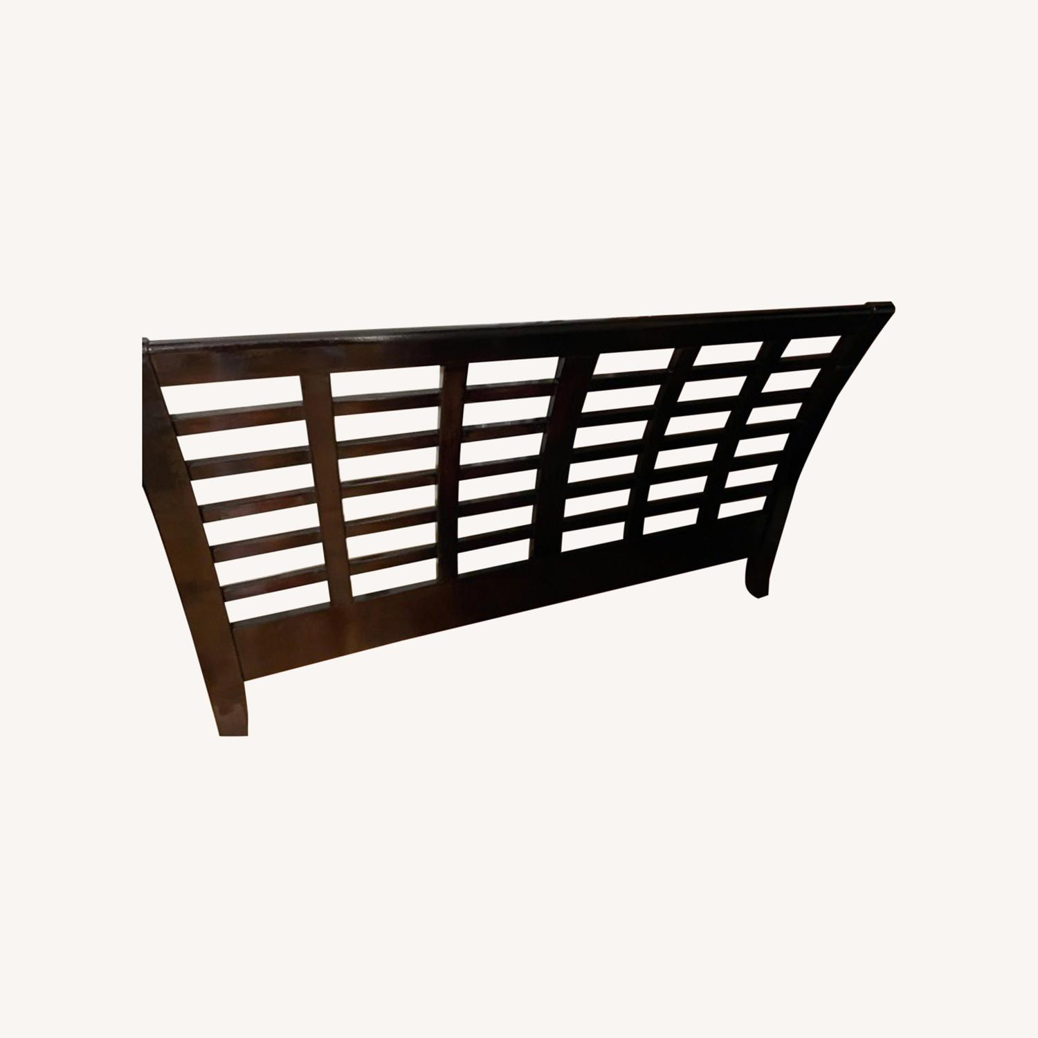 Raymour & Flanigan Full Size Bed Frame - image-0