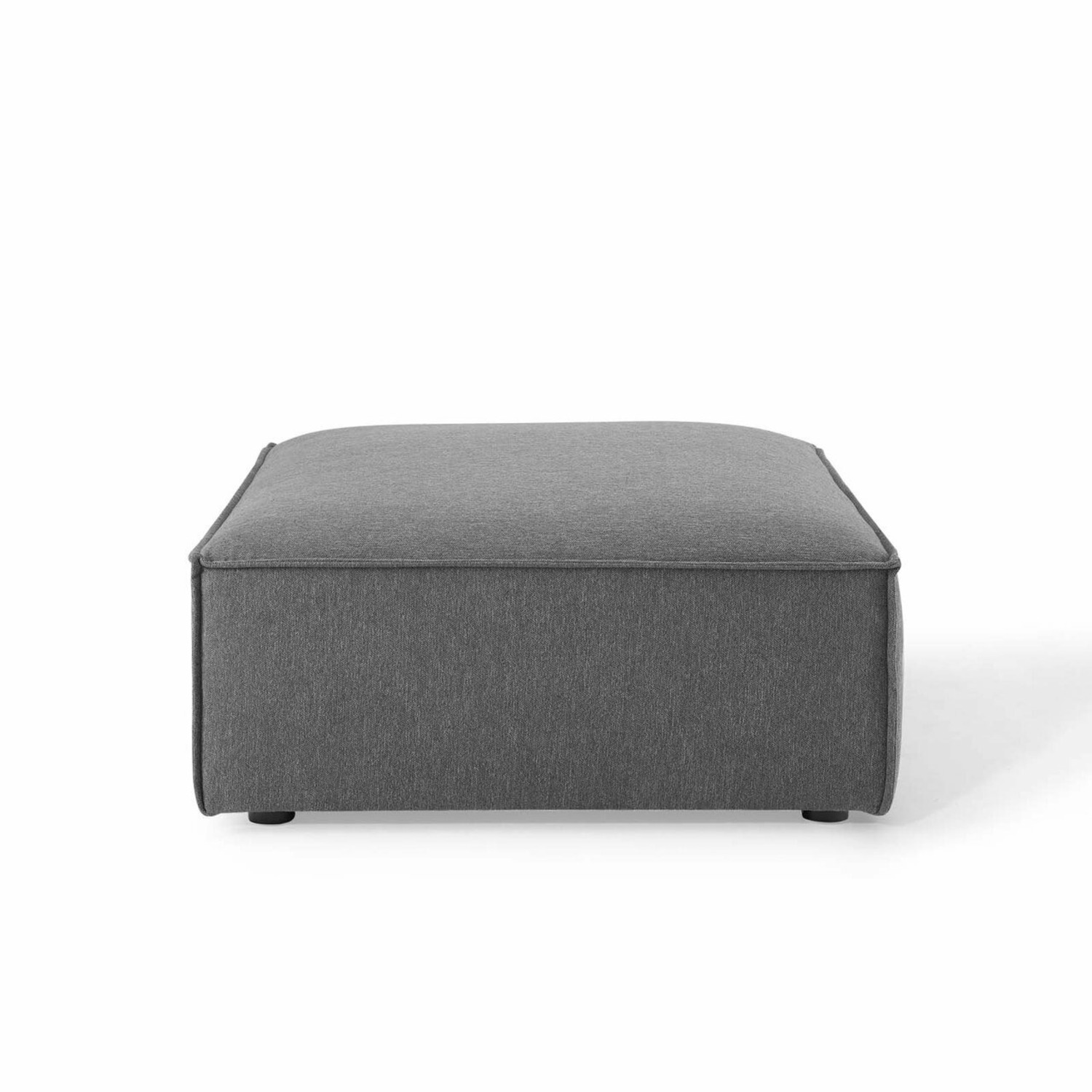 4-Piece Sectional Sofa In Charcoal Fabric Finish - image-8