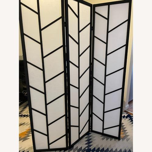 Used Wayfair 3-Panel Room Divider for sale on AptDeco