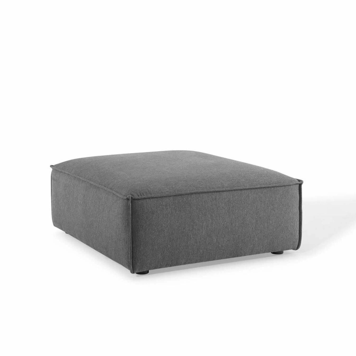 7-Piece Sectional Sofa In Charcoal Upholstery - image-9