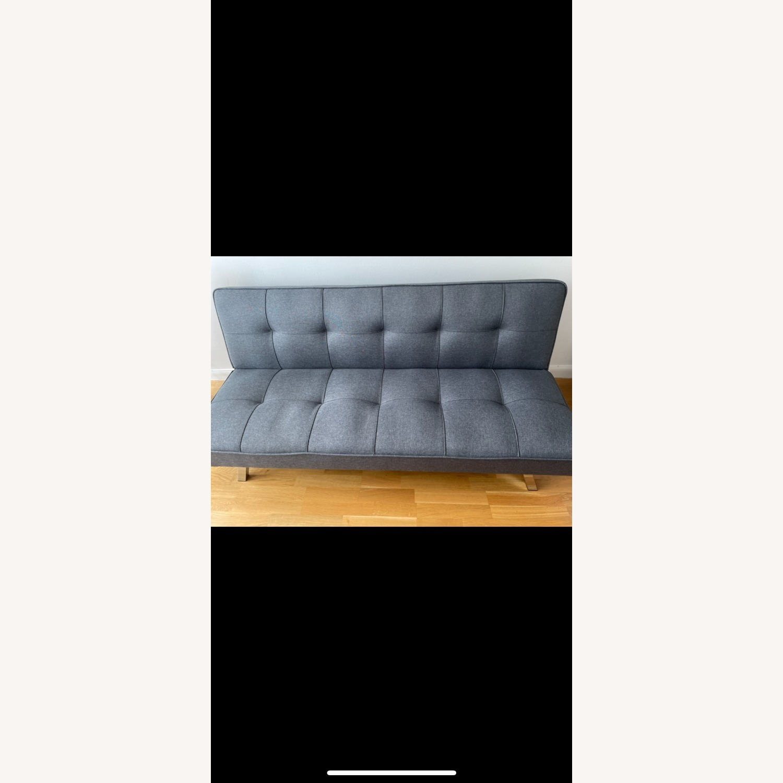 Serta Rane Collection Convertible Sofa, Charcoal - image-6
