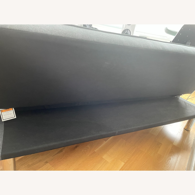 Serta Rane Collection Convertible Sofa, Charcoal - image-11