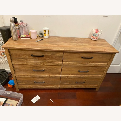 Used Cannery Bridge 6-Drawer Sindoori Mango Dresser for sale on AptDeco