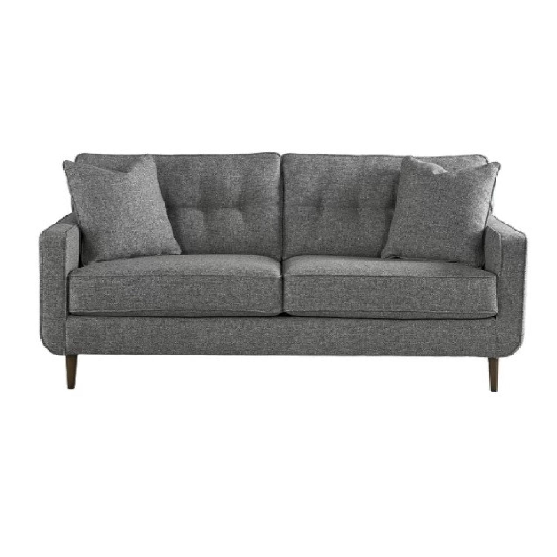 Ashley Charcoal Zardoni Sofa - image-9