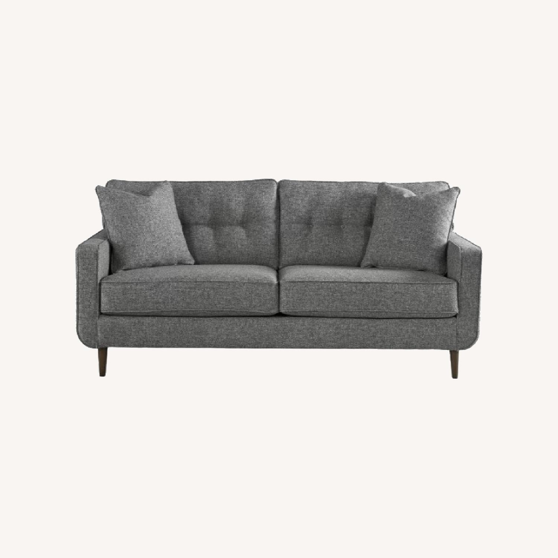 Ashley Charcoal Zardoni Sofa - image-0