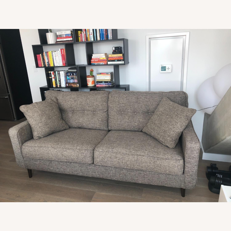 Ashley Charcoal Zardoni Sofa - image-2