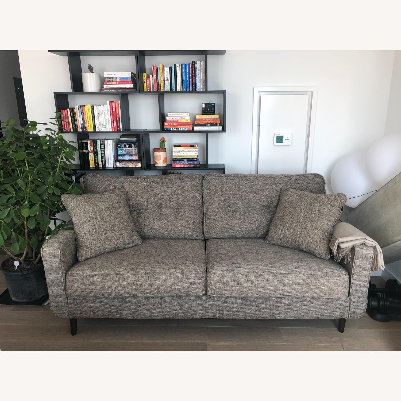 Ashley Charcoal Zardoni Sofa - image-1