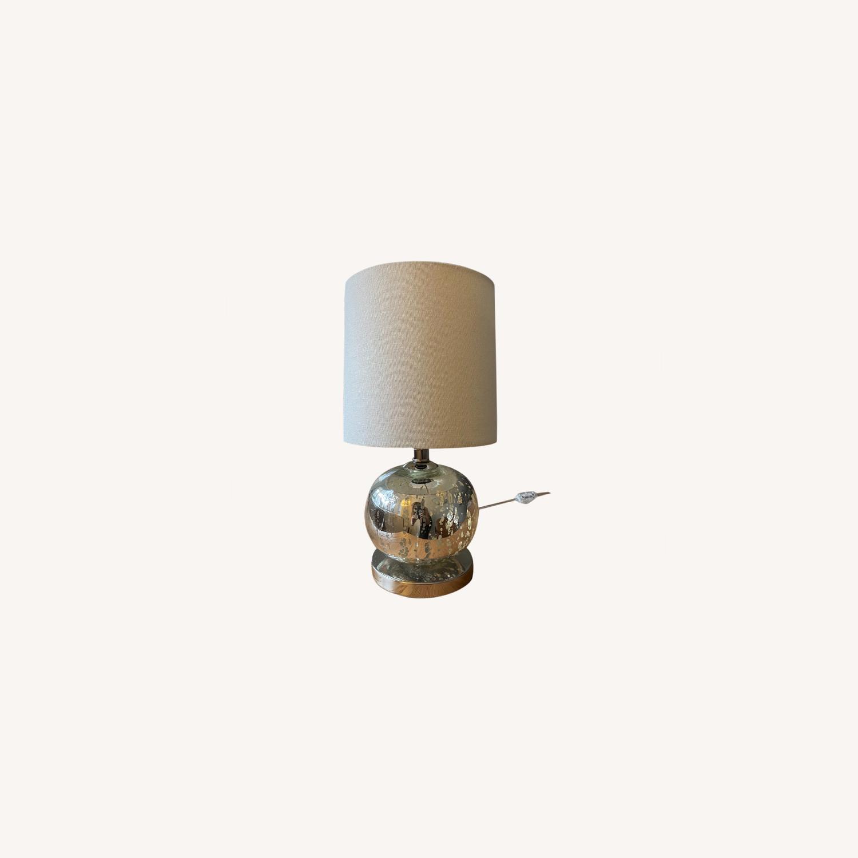 2 West Elm Table Lamps - image-0