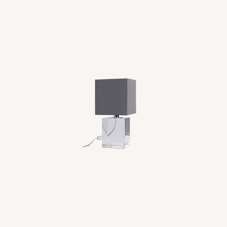 Regina Andrew Crystal Mini Block Lamp - image-0