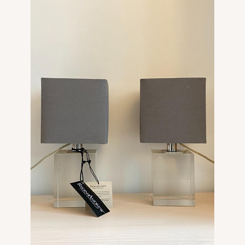 Regina Andrew Crystal Mini Block Lamp - image-2