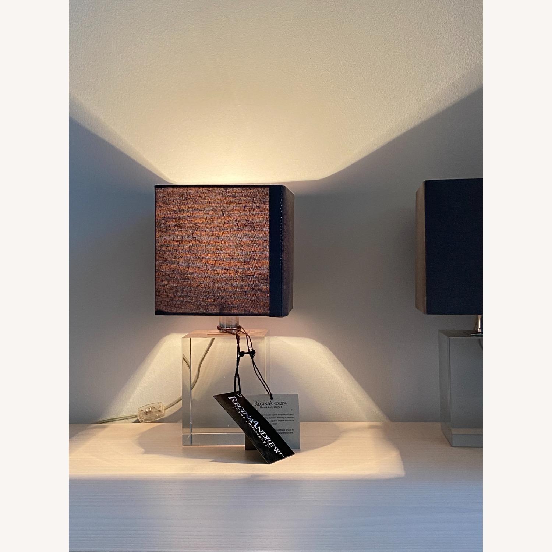 Regina Andrew Crystal Mini Block Lamp - image-4