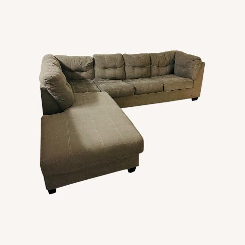 Used Jennifer Convertibles Sectional Sofa Bed for sale on AptDeco