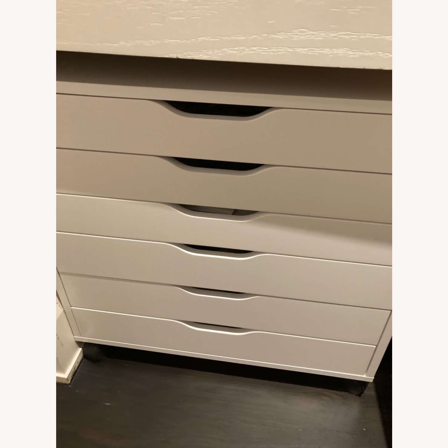 IKEA Pair of Alex Drawers in White - image-2