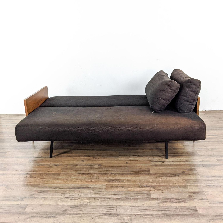 CB2 Exton Espresso Sleeper Sofa - image-3