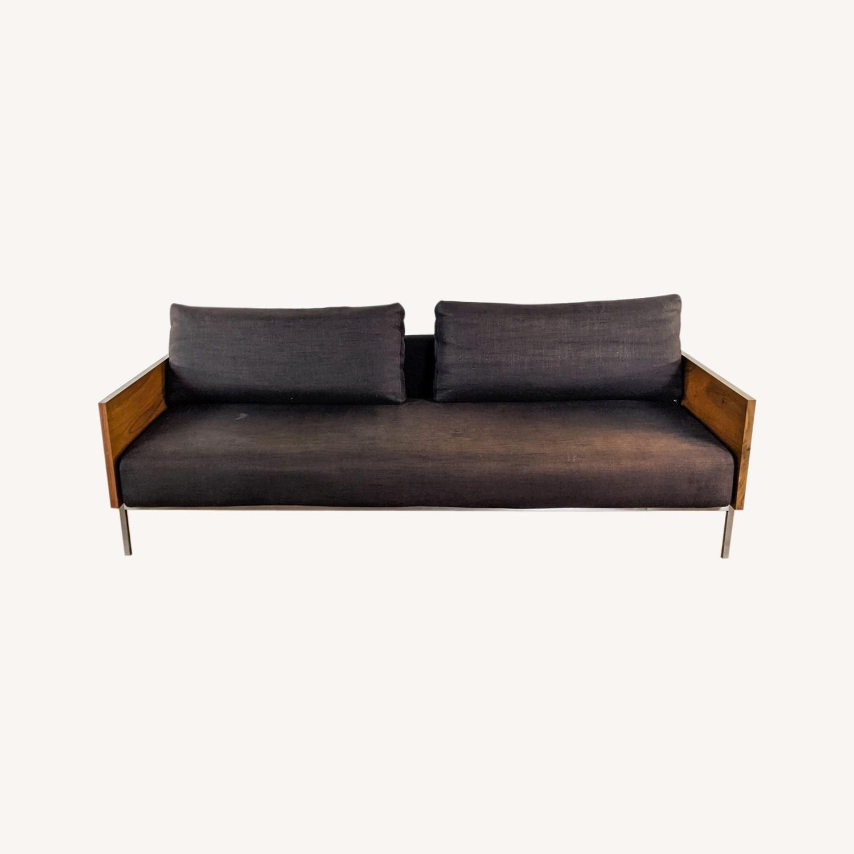 CB2 Exton Espresso Sleeper Sofa - image-0