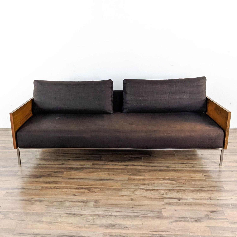 CB2 Exton Espresso Sleeper Sofa - image-2