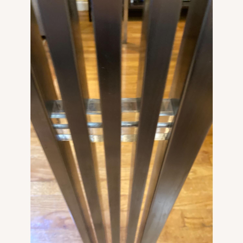 Nuevo Living Glass Metal Frame Table - image-3