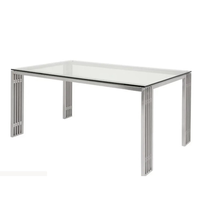 Nuevo Living Glass Metal Frame Table - image-11