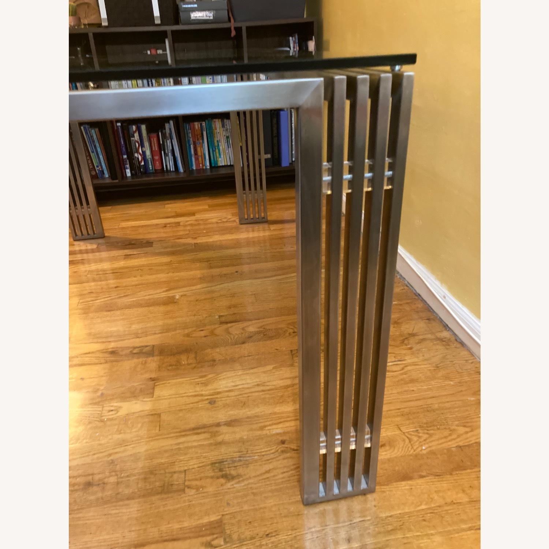 Nuevo Living Glass Metal Frame Table - image-9