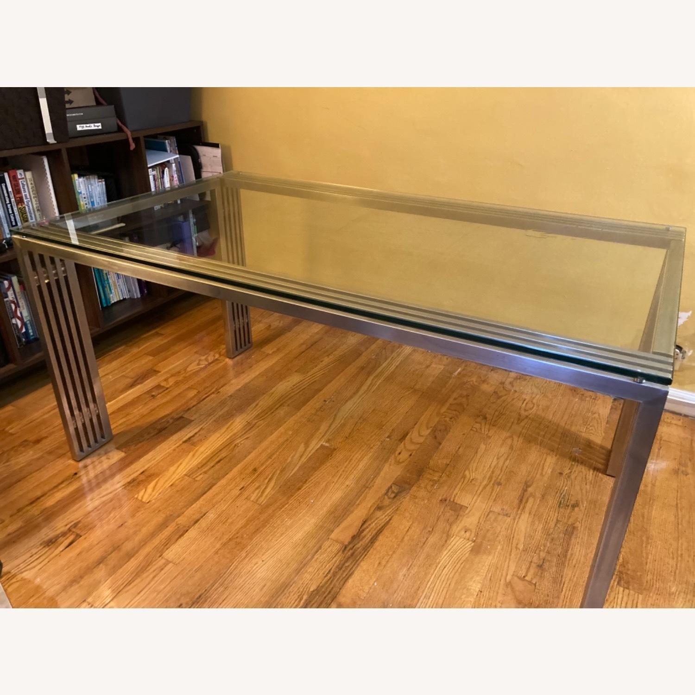 Nuevo Living Glass Metal Frame Table - image-2