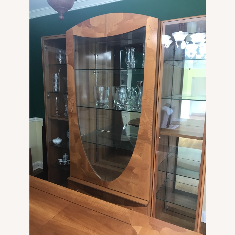 Vintage Italian 3 piece China cabinet - image-1