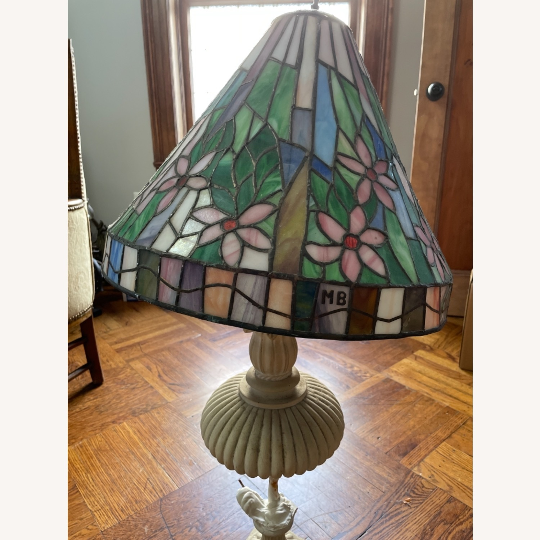 Vintage Tiffany Lamp Shade - image-2