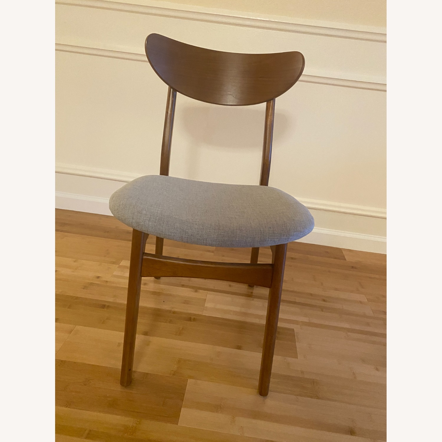 West Elm Classic Caf Upholstered Dining Chair- Set of 2 - image-3