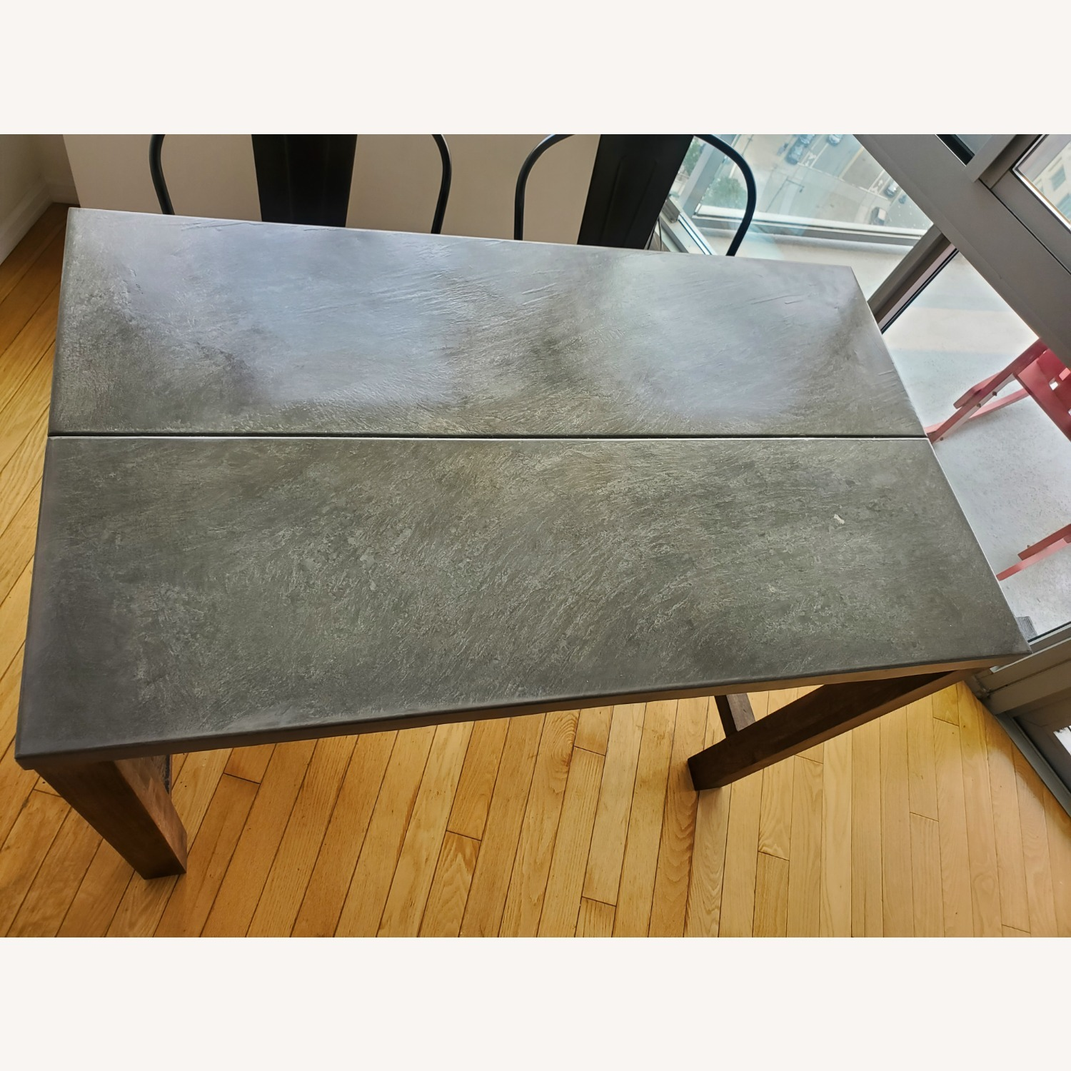 CB2 Industrial Dining Table & Chairs - image-3