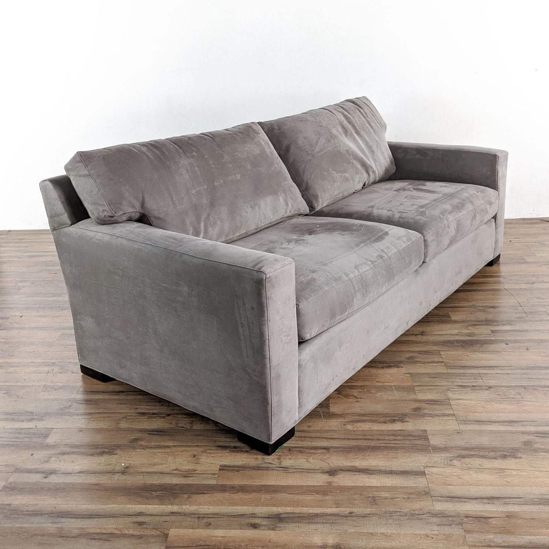 Crate & Barrel Axis 2 Seater Queen  Sleeper Sofa - image-4