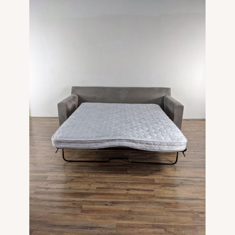 Crate & Barrel Axis 2 Seater Queen  Sleeper Sofa - image-5