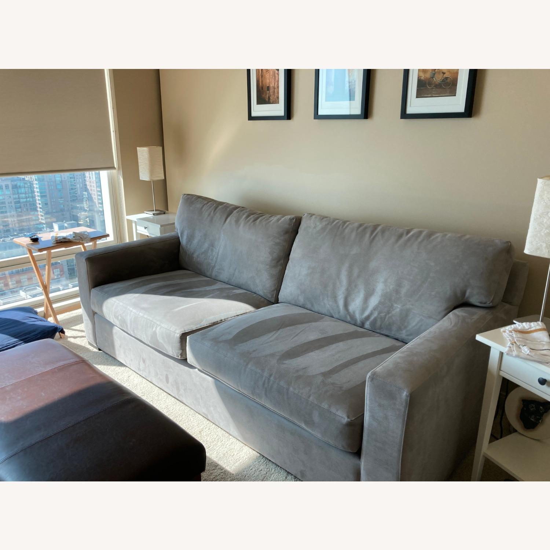 Crate & Barrel Axis 2 Seater Queen  Sleeper Sofa - image-1