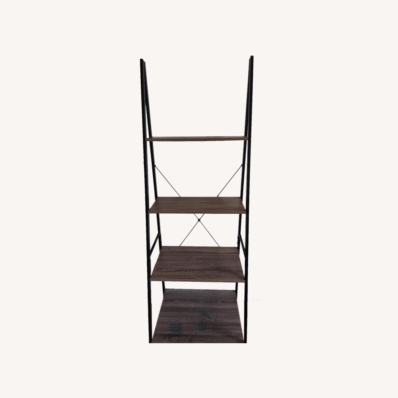 Wayfair Tall Ladder Bookcase - image-0