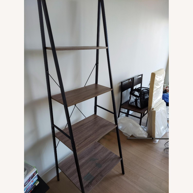 Wayfair Tall Ladder Bookcase - image-2
