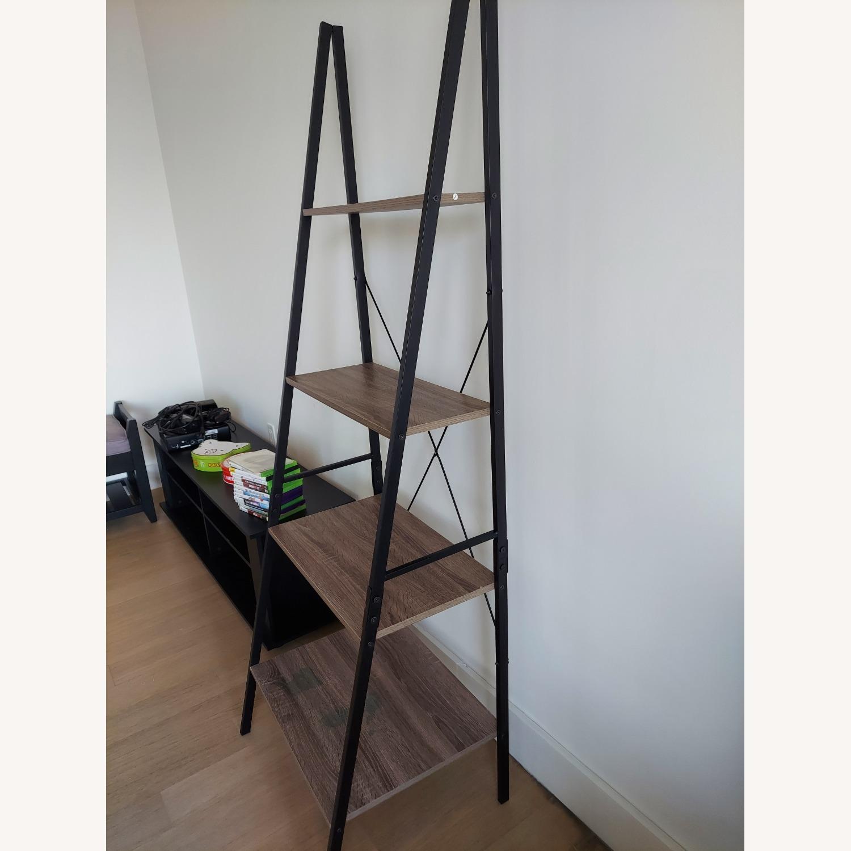 Wayfair Tall Ladder Bookcase - image-3