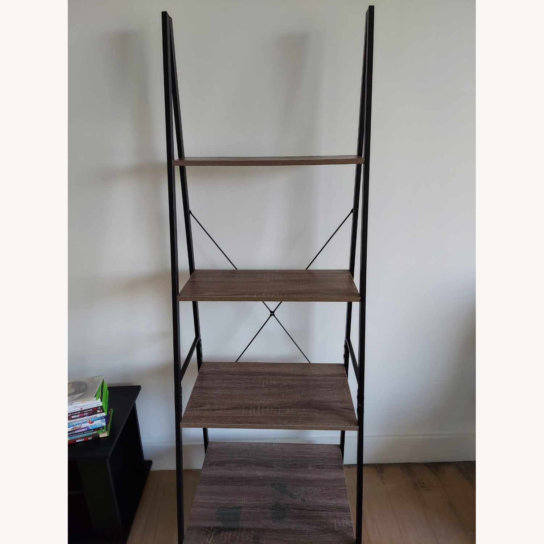 Wayfair Tall Ladder Bookcase - image-1
