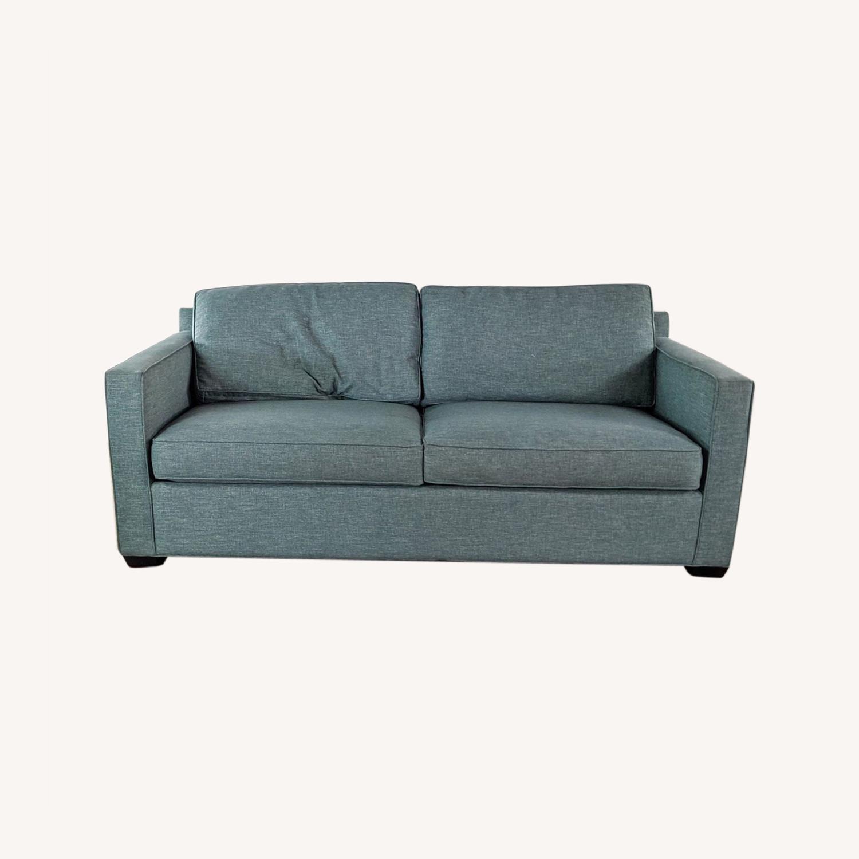 Crate & Barrel Queen Sized Sleeper Sofa - image-0
