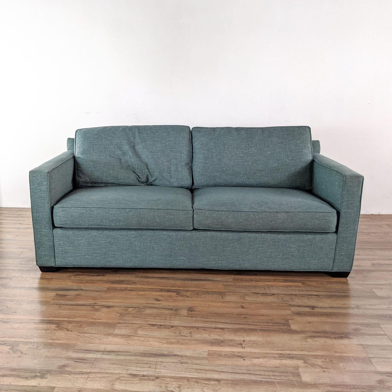 Crate & Barrel Queen Sized Sleeper Sofa - image-5
