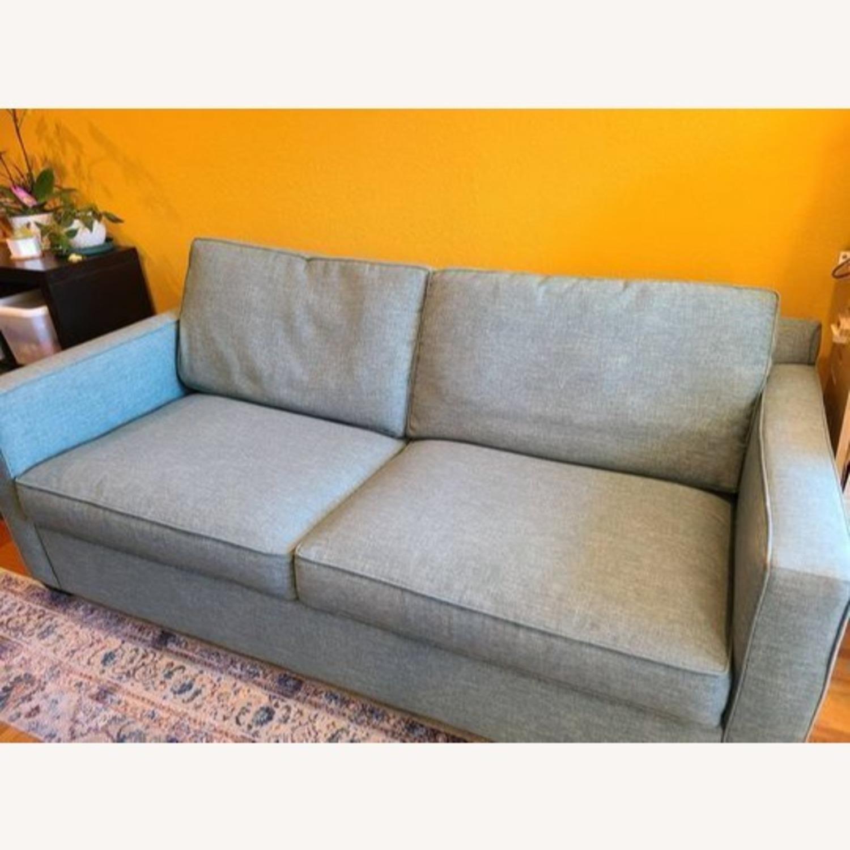 Crate & Barrel Queen Sized Sleeper Sofa - image-1
