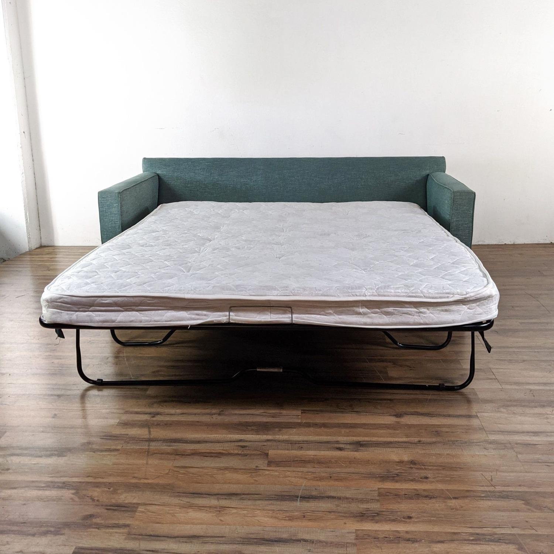 Crate & Barrel Queen Sized Sleeper Sofa - image-4