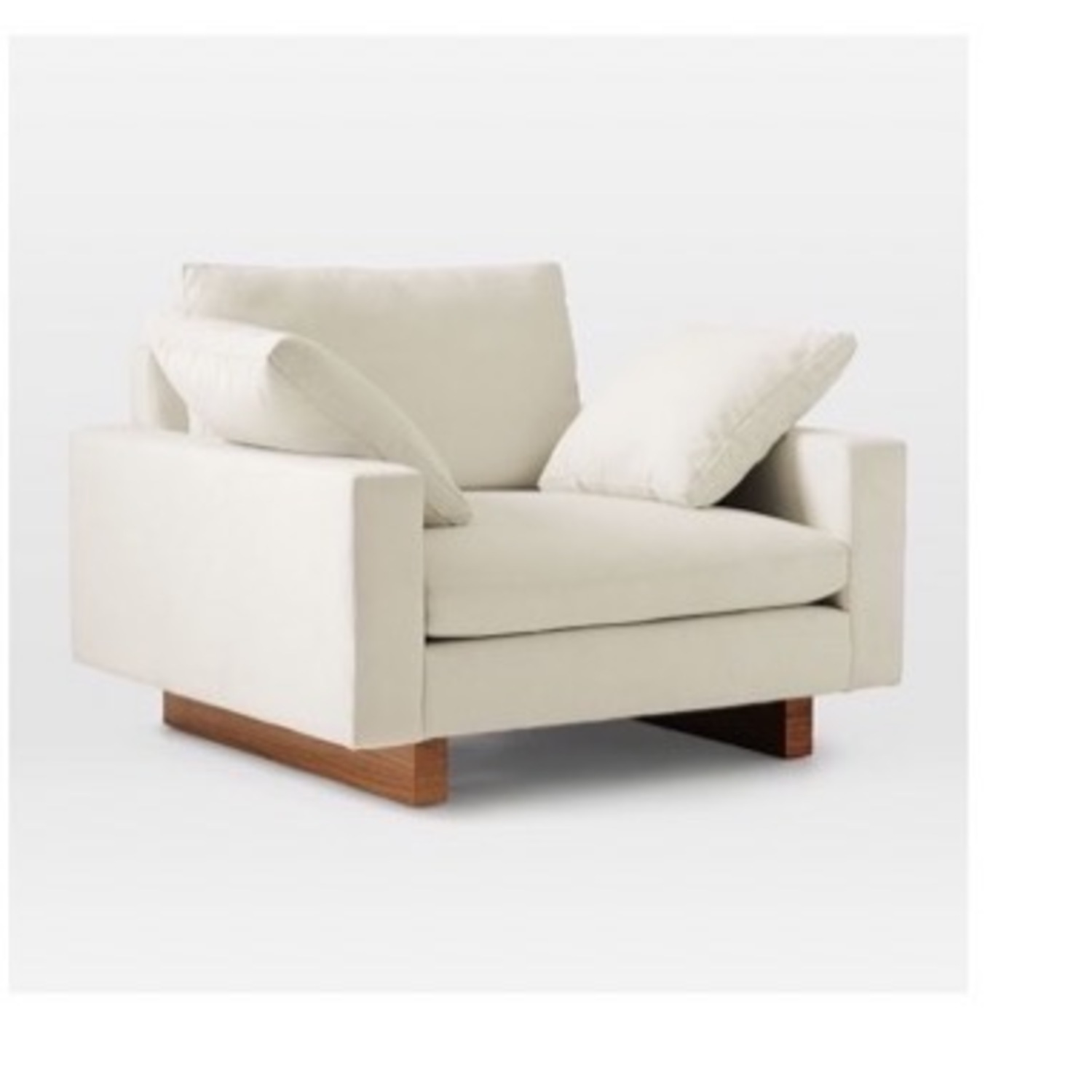West Elm Harmony Chair and a Half - image-1