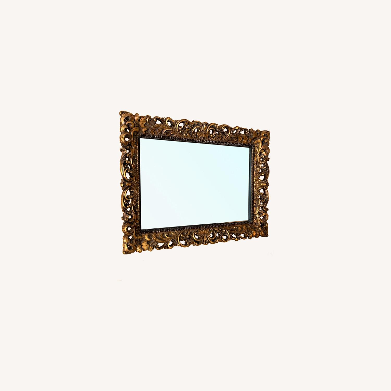Gold Ornate Mirror - image-0